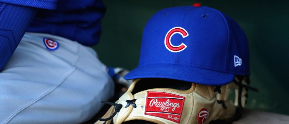 Chicago Cubs hat. (Rob Carr/Getty)