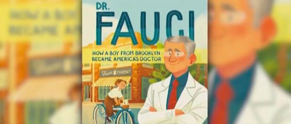 CNN reveals Fauci children's book cover (CNN screengrab)