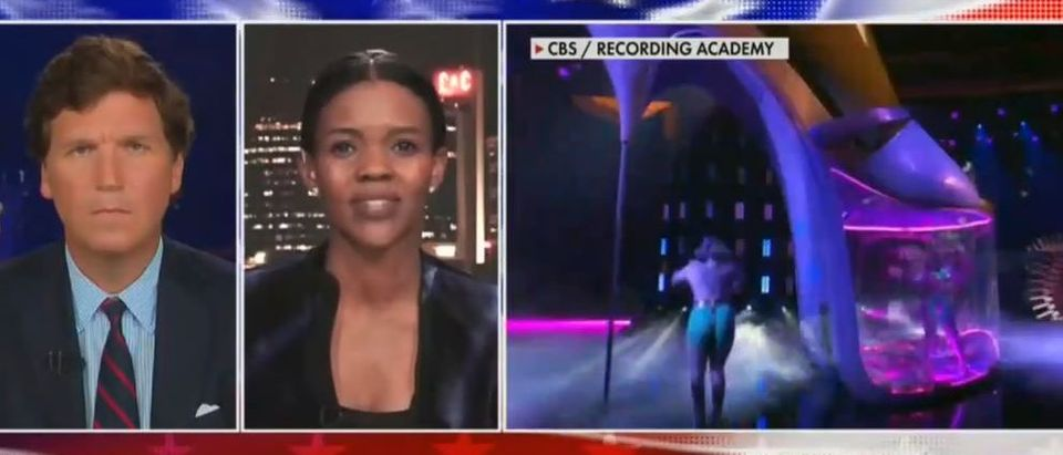 Candace Owens rips Grammys 'spectable' (Fox News screengrab)