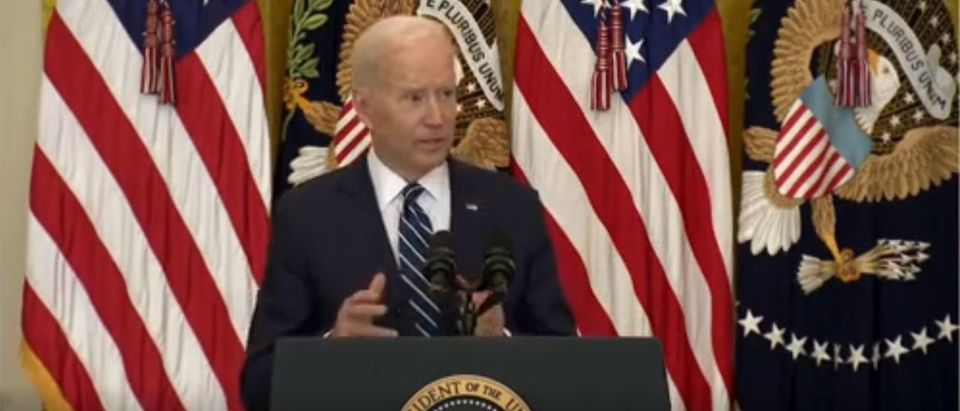 Biden: 'It's Gonna Be Hard' To Meet Deadline To Leave Afghanistan