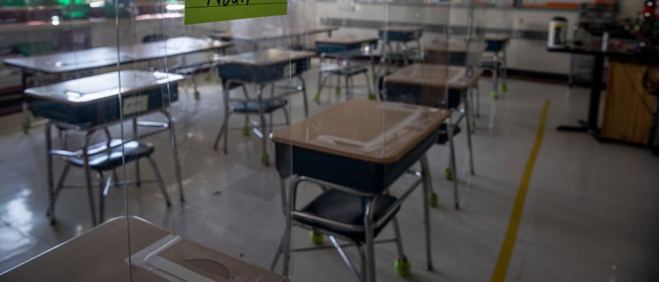 Students Return To Classrooms Full Time As Pandemic Restrictions Ease
