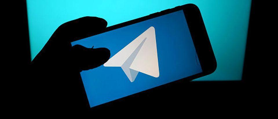 Telegram App (Edward Smith/Getty Images)