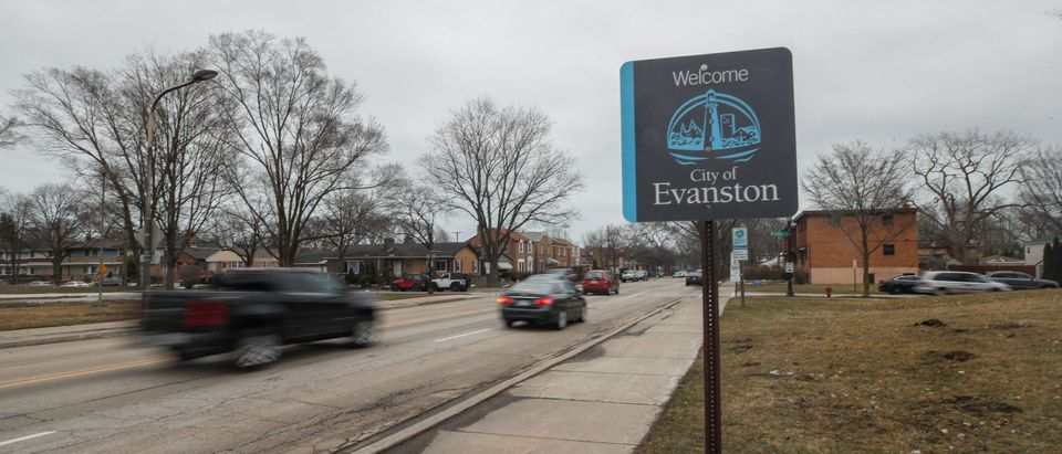 Evanston will provide reparations to its Black residents, with a plan to distribute $10 million over the next decade. Evanston will have a city council vote March 22 on the issue (Kamil Krzacynski/AFP via Getty)