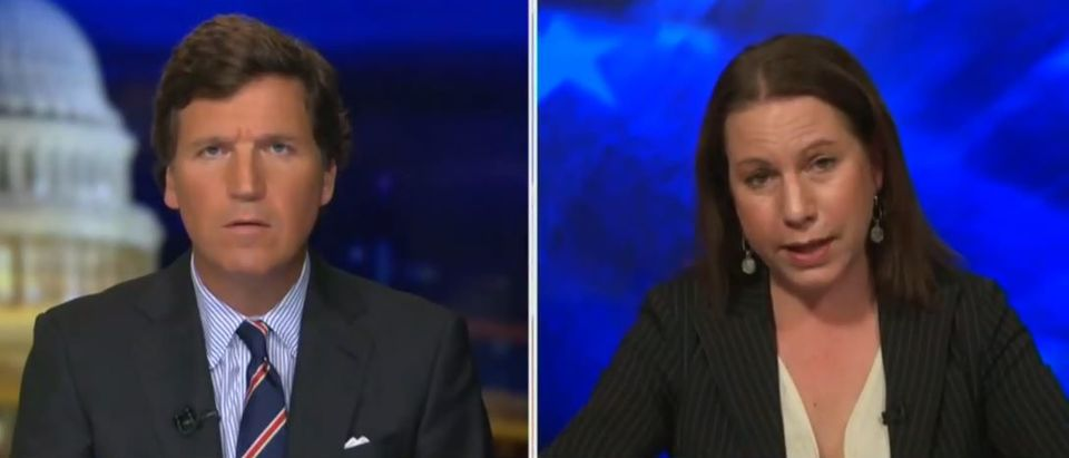 Feminist activist blasts Equality Act (Fox News screengrab)