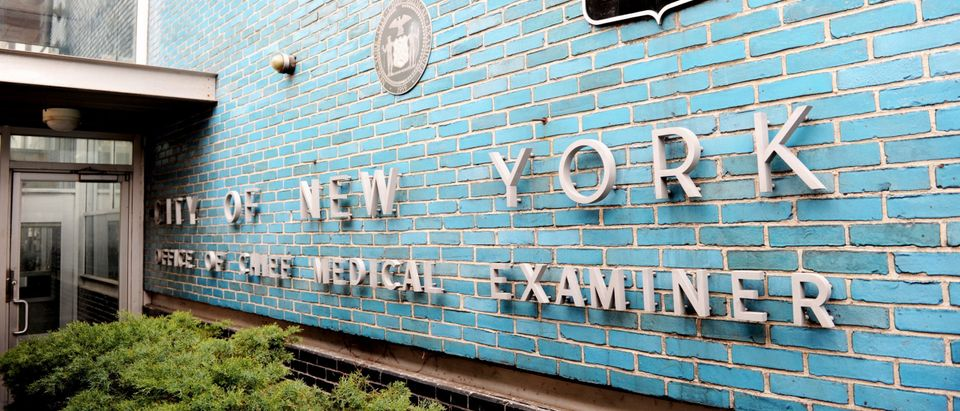 The New York City Office of Chief Medical Examiner on April 7, 2011 in New York. Stan HONDA/AFP PHOTO