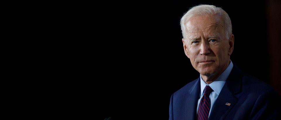 Democratic Presidential Candidate Joe Biden Speaks On White Nationalism In Iowa
