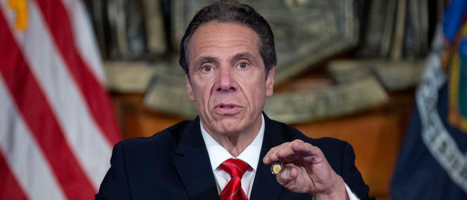Gov. Cuomo Holds Daily Briefing On Coronavirus Pandemic In New York