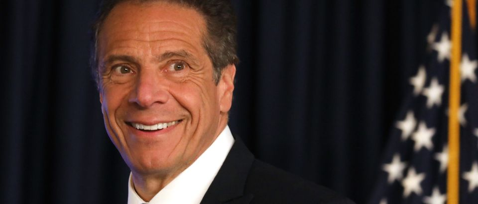 New York Governor Cuomo Holds Coronavirus Briefing In Manhattan