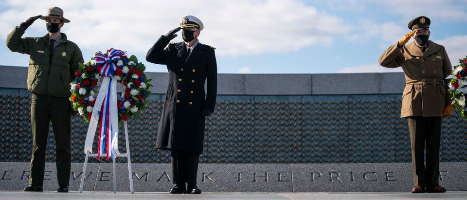 National World War II Memorial Honors Pearl Harbor Remembrance Day