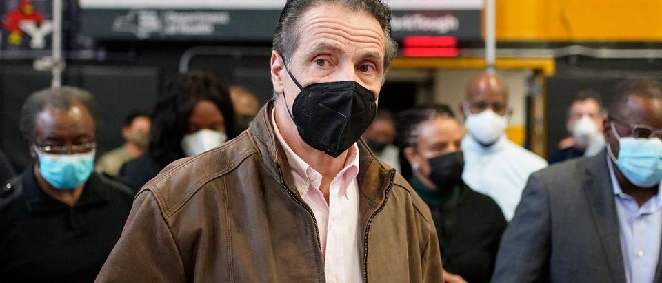 US-HEALTH-VIRUS-VACCINATION-CUOMO