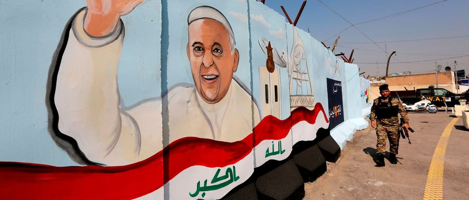 IRAQ-RELIGION-CHRISTIANS-POPE