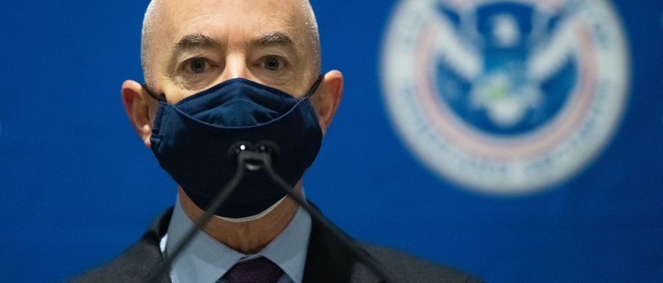 DHS Secretary Mayorkas