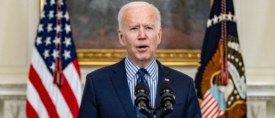 President Biden Speaks Following Passage Of The American Rescue Plan