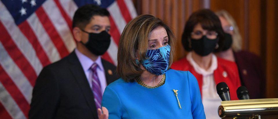 US-POLITICS-IMMIGRATION-PELOSI-BRIEFING