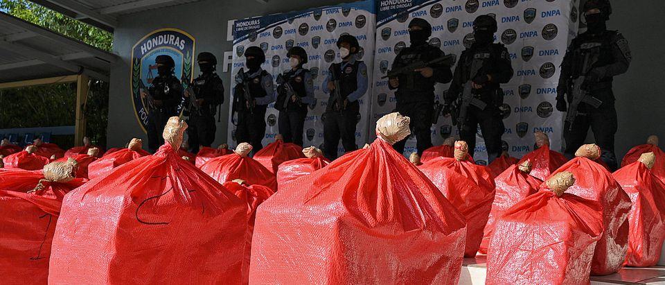 HONDURAS-DRUG-SEIZURE