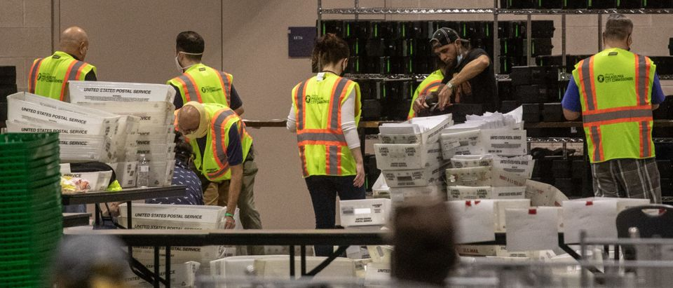 Mail-In Ballot Counting Continues In Philadelphia