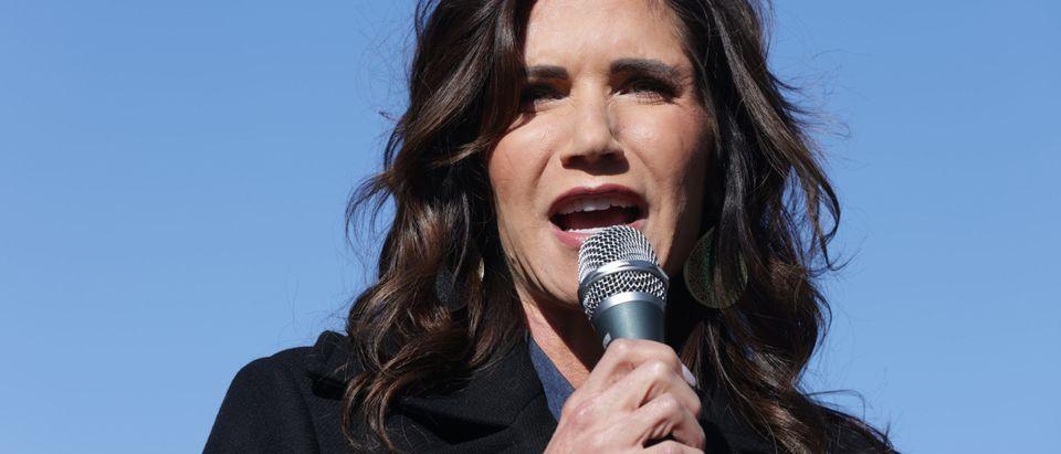 GOP Senate Candidate Sen. Kelly Loeffler Campaigns Ahead Of GA Runoff Election