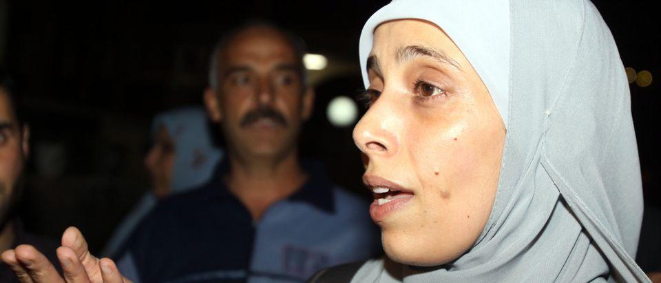 Jordanian freed prisoner Ahlam Tamimi s