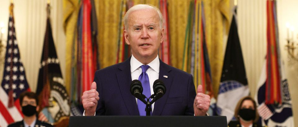 President Biden Delivers Remarks For International Women's Day