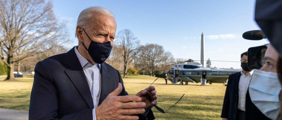 President Biden Returns To White House From Camp David