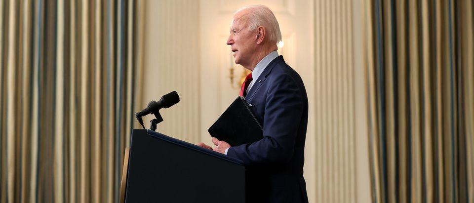 President Biden Delivers Remarks On Boulder Grocery Store Shootings