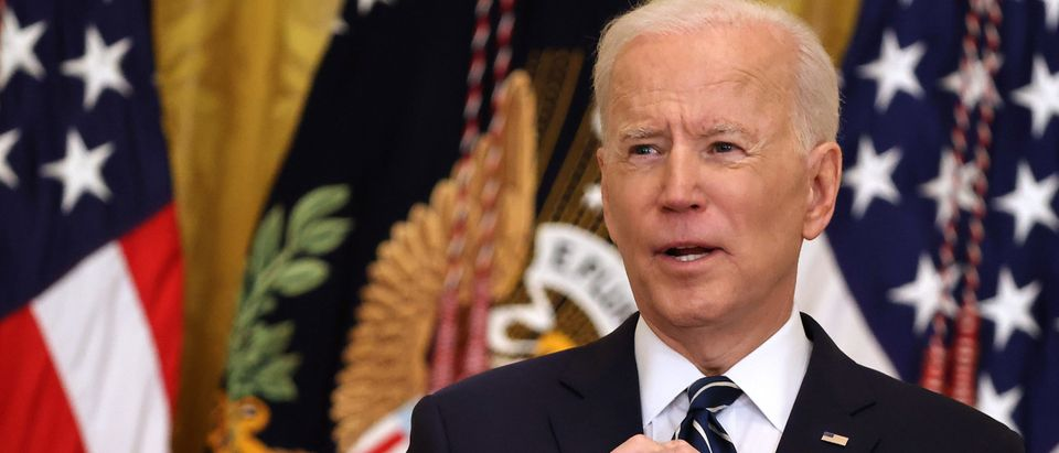 Joe Biden Holds First Press Conference As President