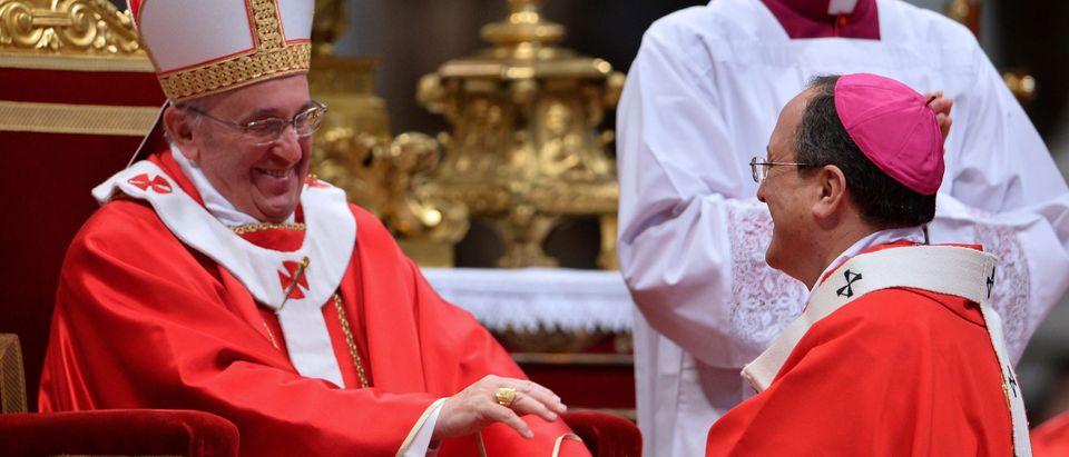VATICAN-POPE-METROPOLITAN-ARCHBISHOPS