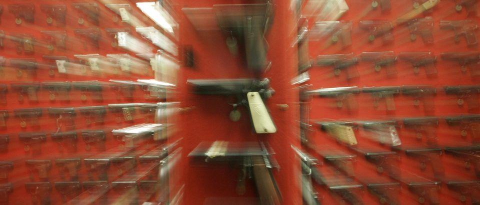 Guns seized by Washington, DC police ove