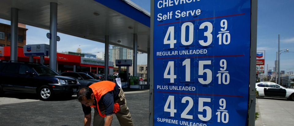 U.S. Gas Prices Hit A New Record At $3.79 A Gallon