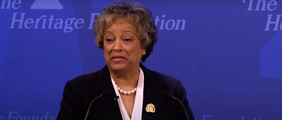 Heritage Foundation President Kay C. James