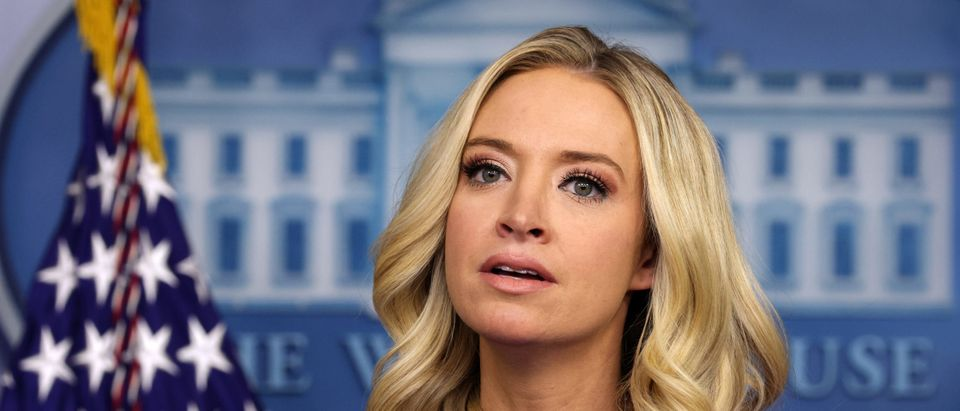 Press Secretary Kayleigh McEnany Holds Briefing At The White House