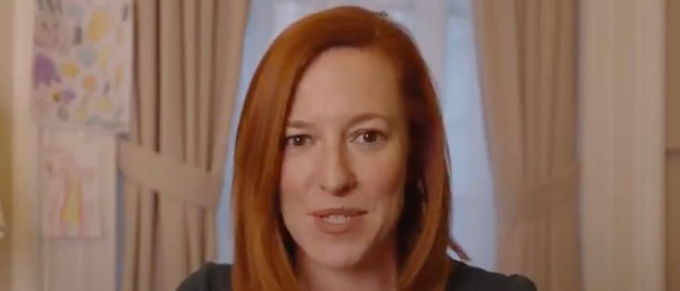 Jen Psaki expressed her love for breakfast during a video promoted by the White House. (Screenshot Twitter The White House)