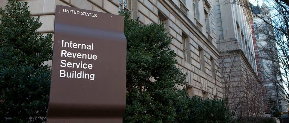 IRS Sign Outside Building