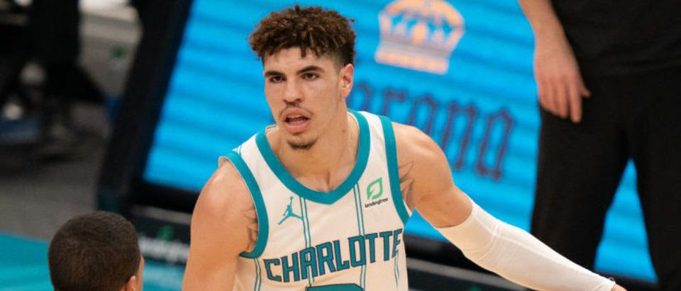 LaMelo Ball (Photo by Jacob Kupferman/Getty Images)