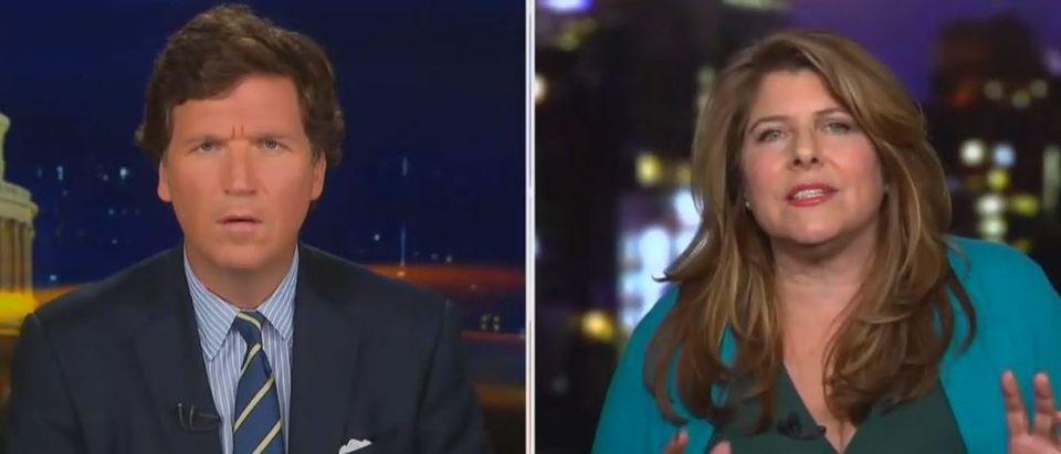 Naomi Wolf blasts Big Tech censorship (Fox News screengrab)