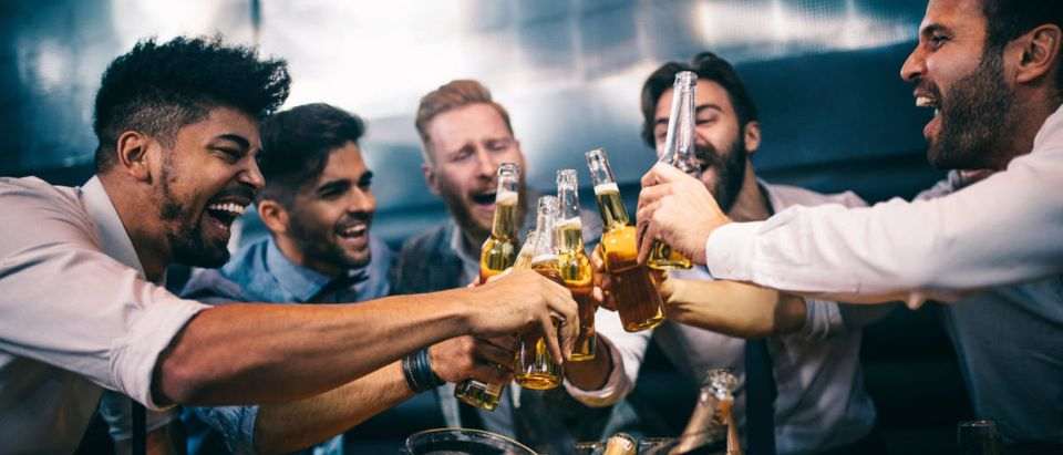 Partying (Credit: Shutterstock/bbernard)