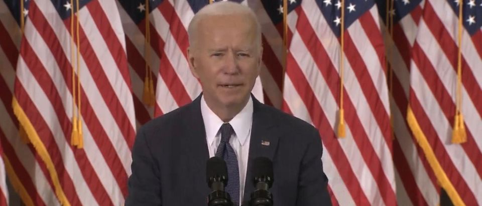President Joe Biden. (Screenshot/Youtube/Joe Biden)