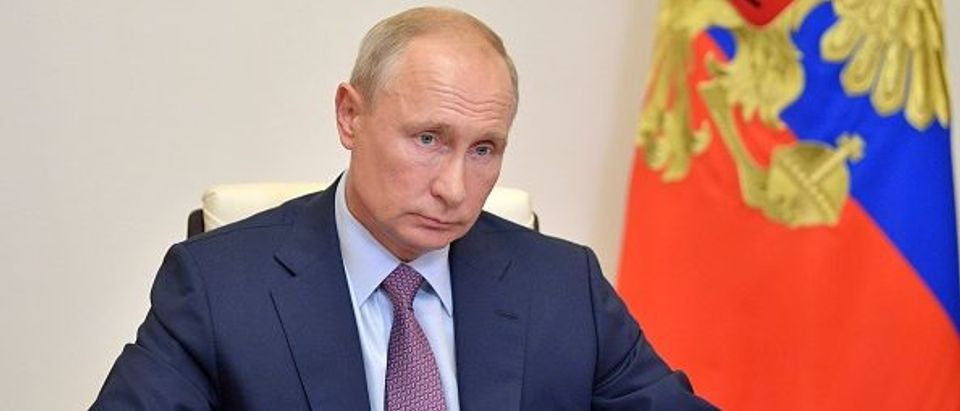 Russia President Vladimir Putin. By Alexei Druzhinin. Getty.