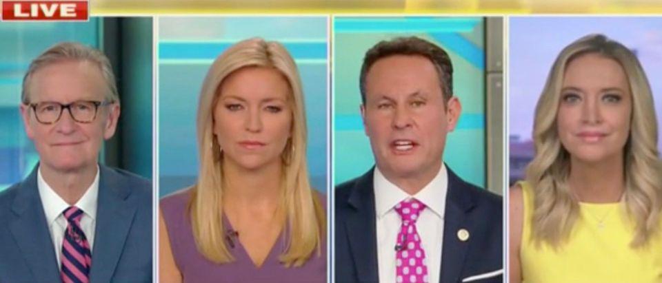 Steve Doocy, Ainsley Earhardt, Brian Kilmeade, and Kayleigh McEnany (Screenshot/Fox News)
