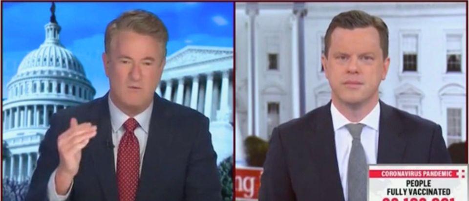 Joe Scarborough and Willie Geist (Screenshot/MSNBC)