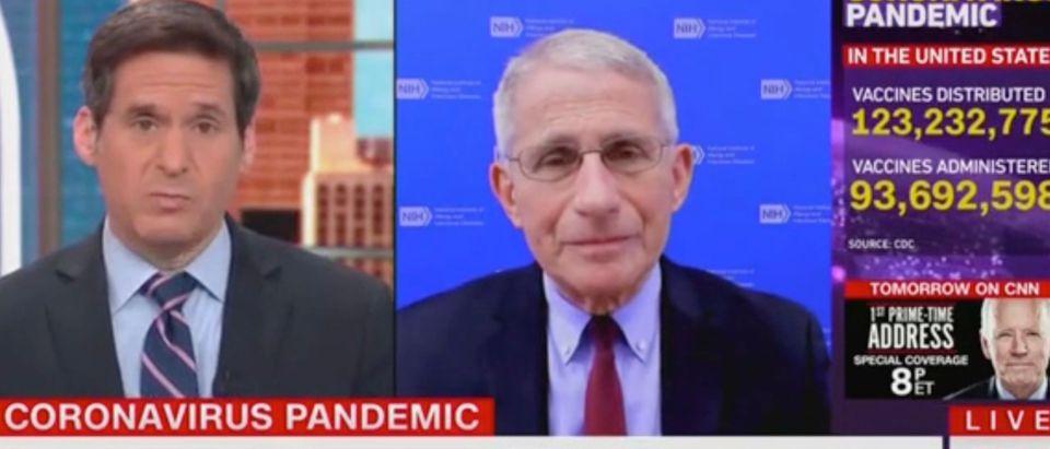 John Berman and Anthony Fauci (Screenshot/CNN)