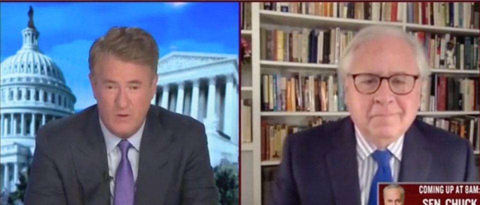 Joe Scarborough And Howard Fineman (Screenshot/MSNBC)