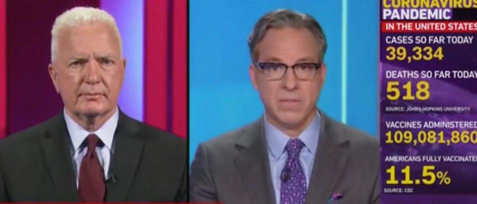 Brett Giroir and Jake Tapper (Screenshot/CNN)