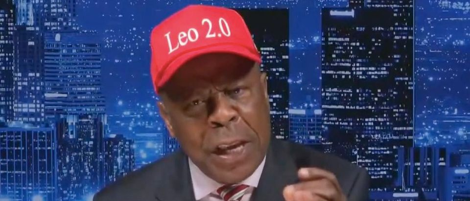 "Leo Terrell appears on ""Hannity."" Screenshot/Fox News"