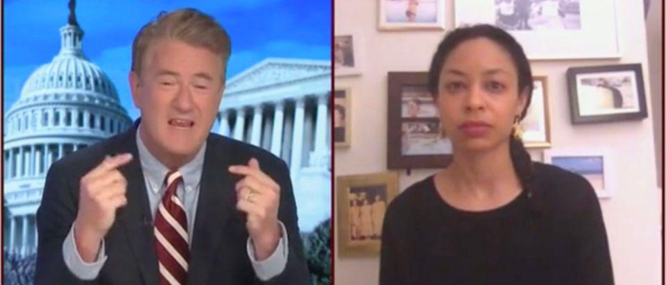 Joe Scarborough And Mara Gay (Screenshot/MSNBC)
