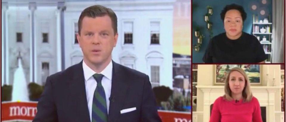 Willie Geist, Yamiche Alcindor, and Julia Ainsley (Screenshot/MSNBC)