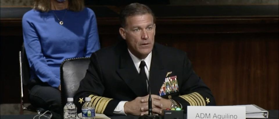 Senator Cotton questions Admiral John C. Aquilino, USN for reappointment to be Commander of the United States Indo-Pacific Command.