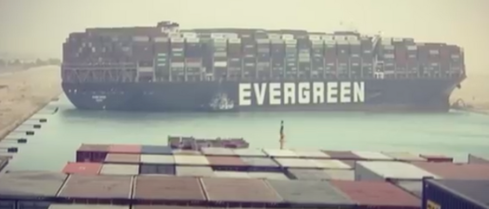Ever Given blocks Suez Canal
