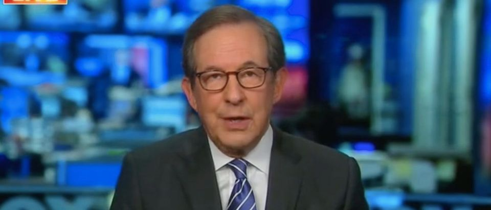 """Chris Wallace appears on """"America Reports."""" Screenshot/Fox News"""