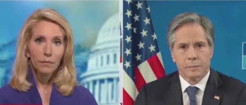 Dana Bash and Sec. Antony Blinken (Screenshot/CNN)